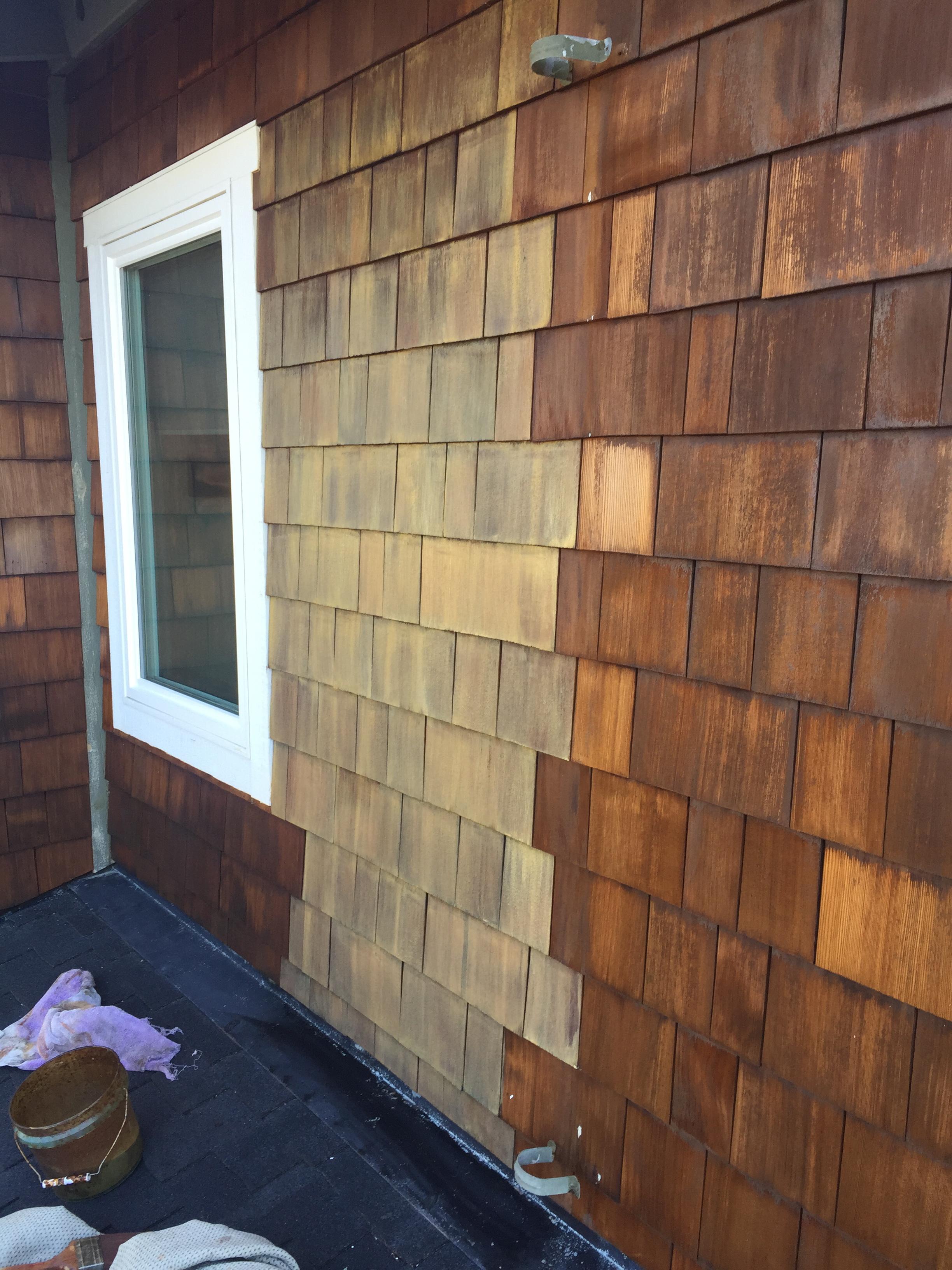 Cleaning Santa Cruz 183 Fences Shingles Siding